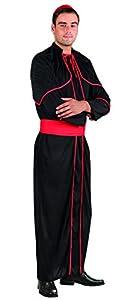 Boland 83852 - Disfraz de cardenal para adultos, negro