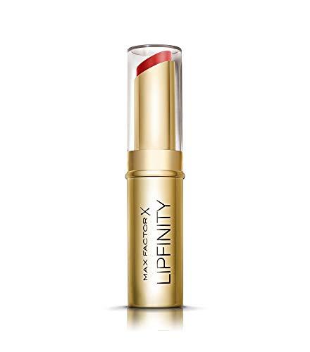 Max Factor Lipfinity Long Lasting Lipstick Always Chic 40, Feuchtigkeitsspendender Matt-Lippenstift mit bis zu 8h Halt und starker Deckkraft, in klassischem rot -