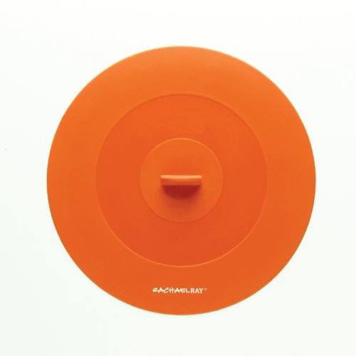 Gadgets Rachael Und Tools Ray (Rachael Ray Tools and Gadgets Top-This Suction Lid, 9-1/4-Inch, Medium, Orange)