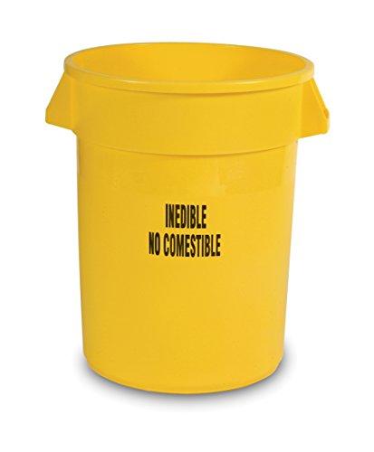 Rubbermaid Produkte fg263256yel Brute schwere runde Container mit