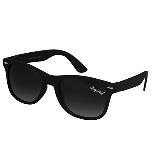 Imperial Club Unisex Black Double Gradient Premium Wayfarer Sunglasses (wy060)