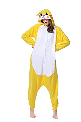 Adult Unisex Easter Bunny Anime Christmas Halloween Carnival Cosplay Outfit