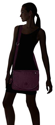 Kipling - Orleane, Borse a tracolla Donna Viola (Plum Purple)