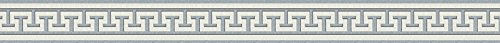 A.S. Creation 281319 - Cenefa adhesiva, color gris y blanco