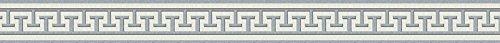 A.S. Création selbstklebende Bordüre Only Borders 9 Borte grau metallic weiß 281319