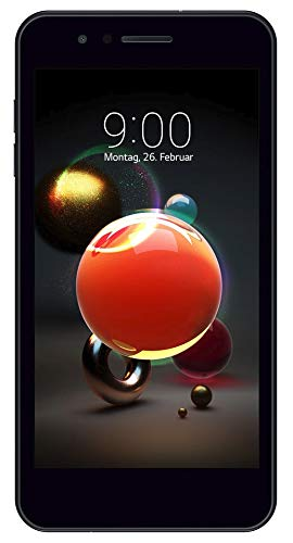 LG K9 Smartphone (12,7 cm (5,0 zoll) Display, 16 GB Speicher, Android 7.1.2) Aurora Black