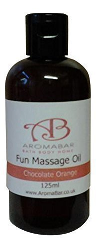 Chocolate Orange Massage Body Oil 125ml