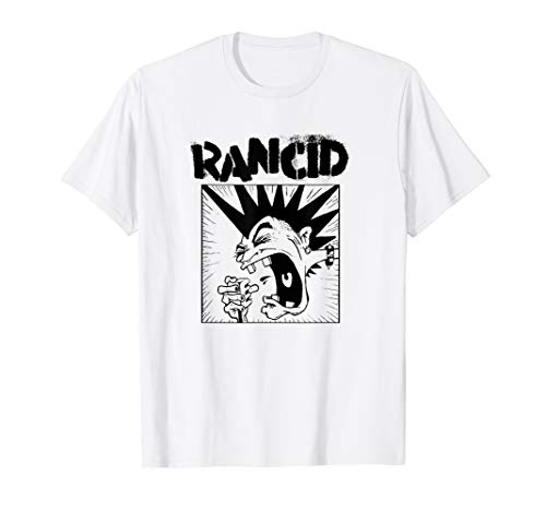 Rancid Microphone T-Shirt, Official Design for Men or Women, S to 3XL