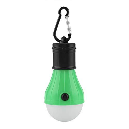 koulate Tragbare 5-Farben-Hängelampe, Mini Led Outdoor dekoratives Licht Zelt Hängelaterne Outdoor Angeln Camping Weihnachtsdekoration Licht(3#) -