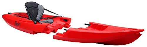 TEQUILA GTX solo Kayak Desmontable (Rojo)