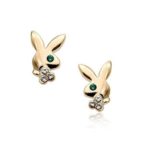 per-regalo-motivo-coniglietto-playboy-con-logo-fashion-jewellery-orecchini-a-perno