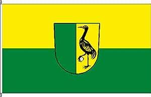 Flagge Fahne Bannerflagge Grünfeld - 80 x 200cm