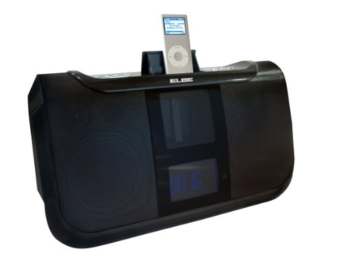 Elbe Mi-26 - Altavoces para Apple iPod con base Docking