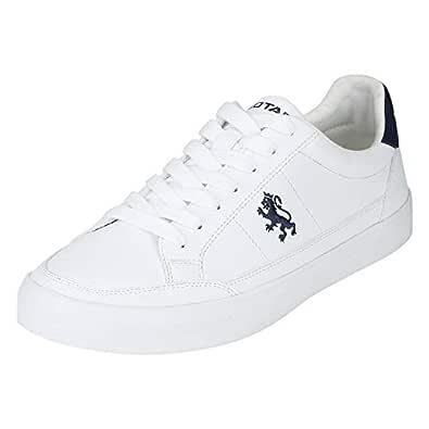 Red Tape Men's Rte1725 White Sneakers-11 UK (45 EU) (RTE1725-11)