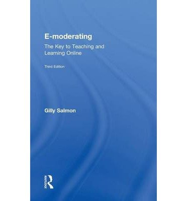 [ { E-Moderating: The Key to Teaching and Learning Online } ] BY ( Author ) Jun-2011 [ Hardcover ]