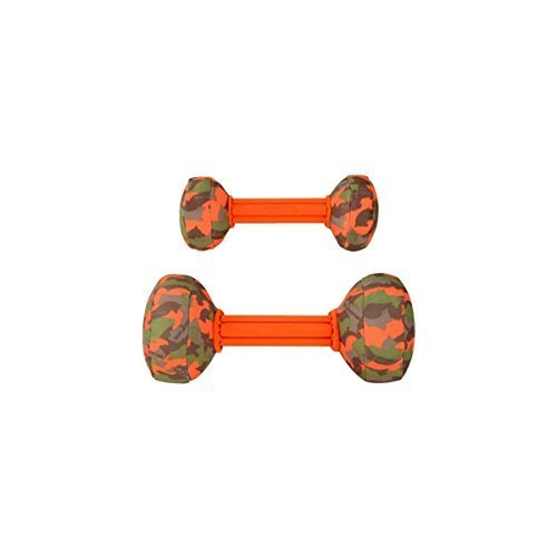 'Major Dog 9.5 Barbell Toy, Small, Arancione by A.C. Kerman – Pet Products