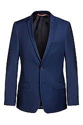 sakko jacket blazer herren slim blau xxl slim fit sportlich 98 gr maenner sakko sommer blazer