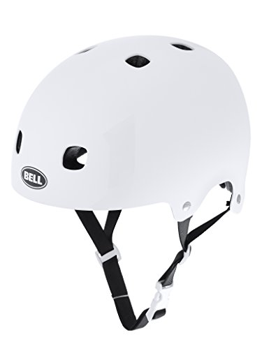 Bell Segment Jr. BMX-Fahrradhelm - white, Größe:S 51-55cm (Fahrradhelm Kinder Sports Bell)