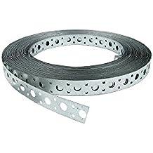 Lochband 20 mm Breit Montageband 10 Meter Länge verzinkt Montage-Lochband