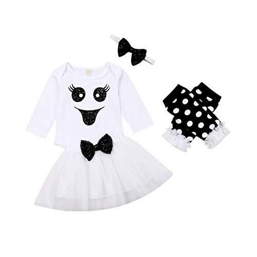 Disfraz Halloween Niña Conjunto de Bebé Recién Nacida con Camisa Ma