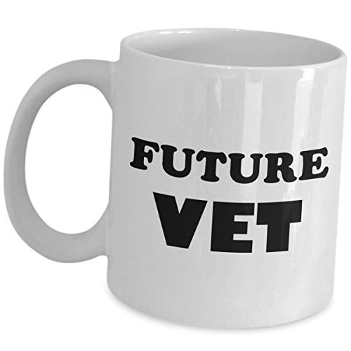Best Funny Coffee Mug Gift Vet Cute Veterinarian Student Practitioner Doctor of Veterinary Medicine Inspirational Graduation Pet Dog Cat Animal Physician Surgeon Physiology