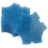 Générique Remplacement Bleu Grossier Mousseux Filtration pour Oase SwimSkim 25 Flottant Etang Ecumoire (Paquet de 6pcs)