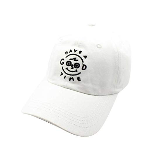 serliy Hat Baumwolle Hohe Qualität Embroideredunisex Baseball Caps | Einstellbare Cartoon Charakter Stickerei Paar Baseball Cap Curved ()