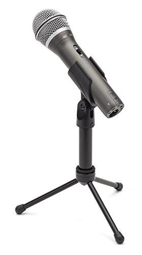 Samson SAQ2U Microfono dinamico plamare USB/XLR, Grigio