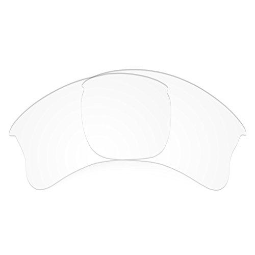 Verres de rechange pour Oakley Flak Jacket XLJ Asian Fit — Plusieurs options Transparent - Non-Polarisés