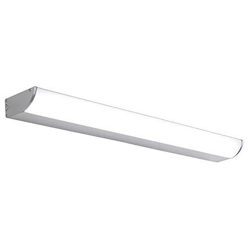 Modern LED 6000k Eitelkeitslicht, Aluminium wasserdichtes Ip65 Wandleuchte Bad Innenbeleuchtung 16W Eye-Caring Eitelkeitslicht Kabinett Beleuchtung-Weiß 60cm ( Color : White , Size : 50cm(20inch) ) (20 Zoll Bad-spiegel)
