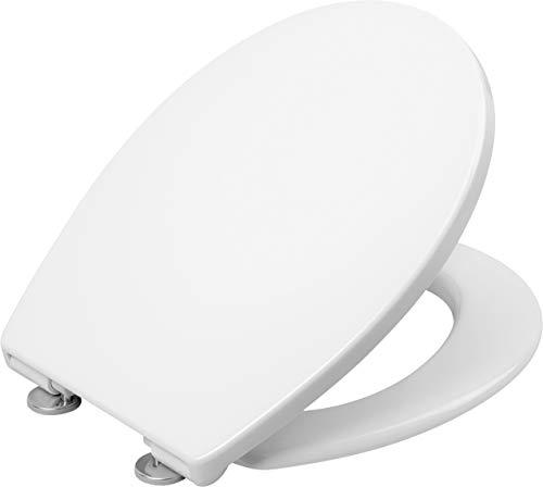 """Cornat WC-Sitz """"Premium 2"""" - Flaches Design - Pflegeleichter Duroplast - Quick up & Clean Funktion - Absenkautomatik - Bequeme Montage von oben / Toilettensitz / Klodeckel / KSPREMSC200"""