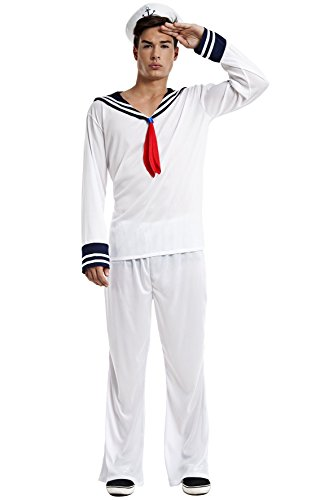 Imagen de disfraz marinero talla m/l tamaño adulto