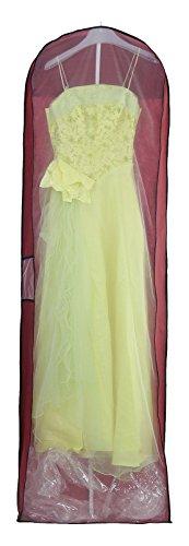 KXSHOP KXB105 Telo traspirante per abiti da sposa e da sera gonne vestiti abiti da uomo cappotti giacche pantaloni e abiti lunghi 70 lunga zip colore