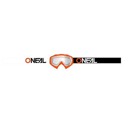 O'Neal B-10 Goggle Twoface Crossbrille Klar Motocross DH Downhill MX Anti-Fog Glas, 6024-21, Farbe orange
