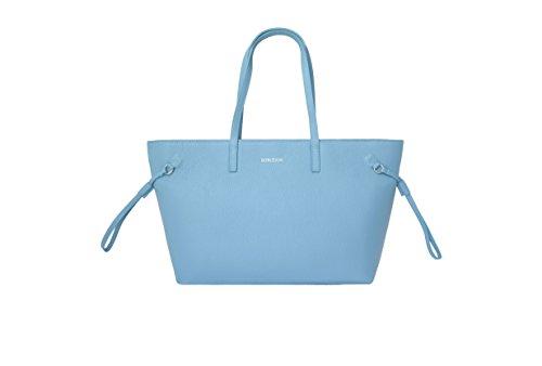 BORGENNI , Damen Tote-Tasche Hellblau
