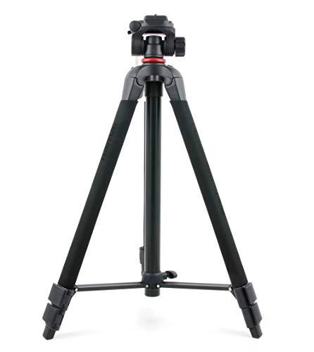 DURAGADGET Stativ Schwarz Profil Für JEEMAK Action Cam 4K UHD 20MP Sport Kamera
