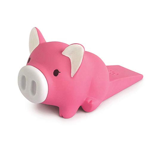 Dovava Türstopper für Kinder, hält Kinder fern von Gefahr, Starkes Weiches PVC-Material, Kratzfest und Rutschfest Pink - Pig -