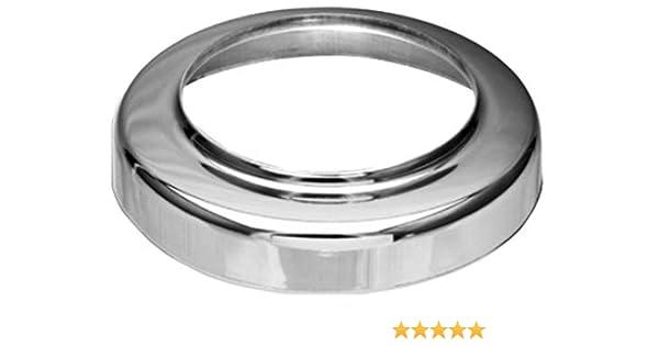 Titanzink Standrohrkappe flach DN 76//115 f/ür Standrohr DN 100