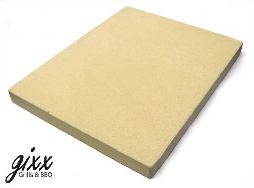gixx Pizzastein eckig 38x30x3cm