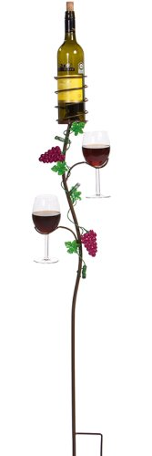 picnic-plus-grapevine-double-glass-bottle-holder-ground-stake-18cm-w-x-110cm-h-vineyard