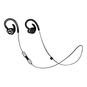 JBL by Harman Lifestyle Reflect Contour 2 Sweatproof Wireless Sport In-Ear Headphones - Black
