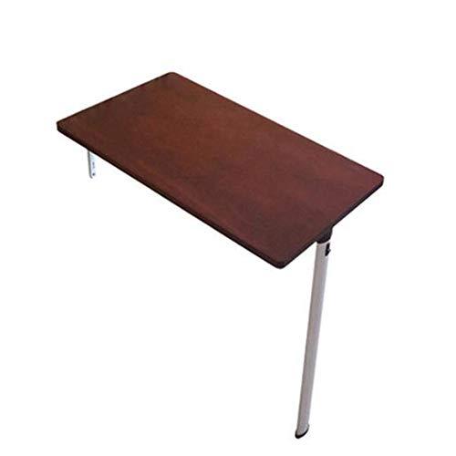 GUI Faule Tisch-Klappwand-Drop-Leaf-Tabelle, Computertisch Kindertisch Schreibtisch, Küche Esstisch, Wandtisch, Weinrot (eine Vielzahl von Größen erhältlich) Sparen Sie Platz,74 ** 35 * 74cm - Küche Platz-tabelle