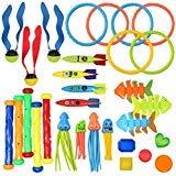 JOYIN 30 pc tauchen Pool Spielzeug Jumbo September Includes (5) tauch Sticks, (6) tauchringe, (5)...