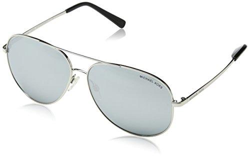Michael Kors Unisex-Erwachsene KENDALL I 10011U 60 Sonnenbrille, Silvermirror,