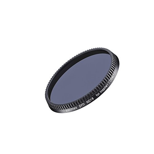 Walimex Pro Drohnenfilter DJI Inspire1(X3)/ND16 (Neutral Density) schwarz