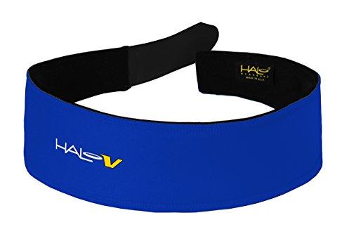 (Halo Stirnband Klettverschluss, Unisex, königsblau, Einheitsgröße)