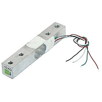 Waegezelle - TOOGOO(R)0-10Kg Elektronische wiegende Skala Waegezelle Sensor 80x12.7 x 12.7mm Silber 10 Skala