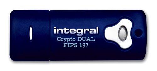 Integral Crypto Dual USB-Stick 8GB mit 256 Bit AES Verschlüsselung, FIPS 197, für Admin und User - 2
