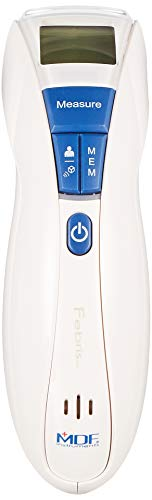 MDF® Febris MDFNT13-29 Infrarot-Thermometer, kontaktlos, Stirn, Marineblau/Weiß