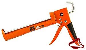 BLACK+DECKER BDHT81570 Steel Half-Open Caulking Gun-330mm (Orange)